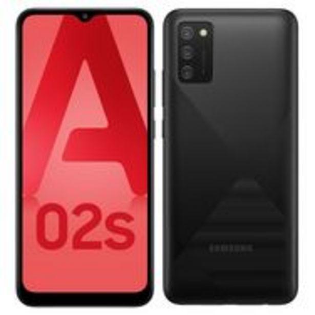 SAMSUNG Smartphone Galaxy A02s 4G 32 Go  6.5 pouces Noir Double NanoSim offre à 149,9€