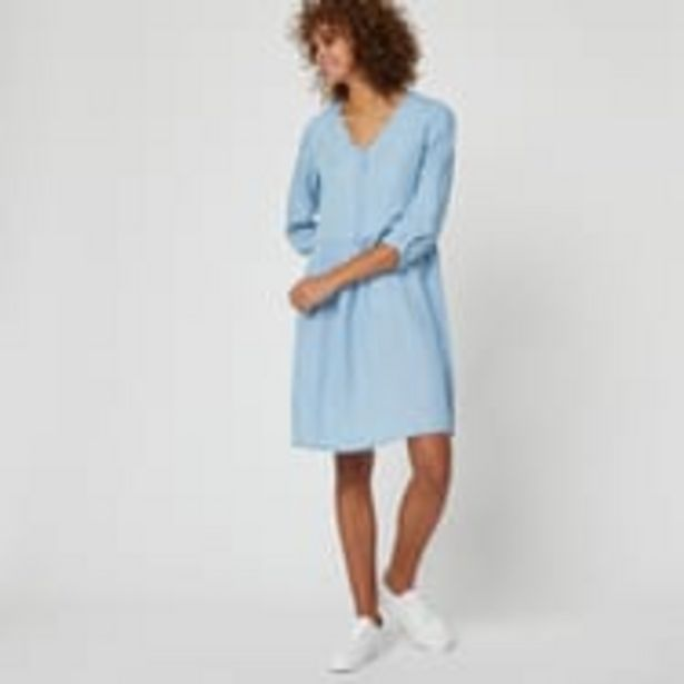IN EXTENSO Robe col v femme offre à 5,99€