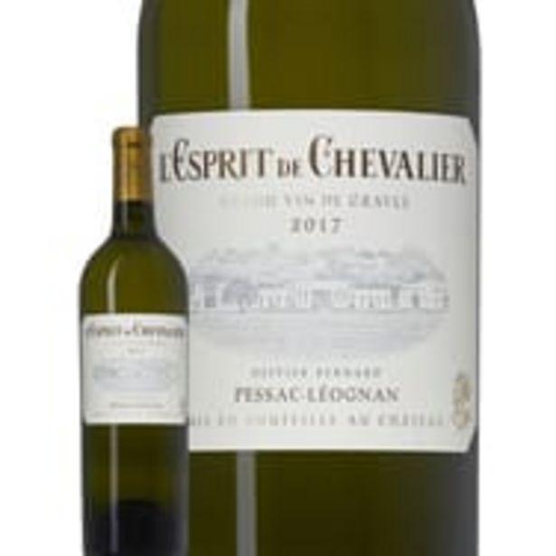 L'Esprit de Chevalier Pessac-Léognan Second Vin Blanc 2017 offre à 16,76€