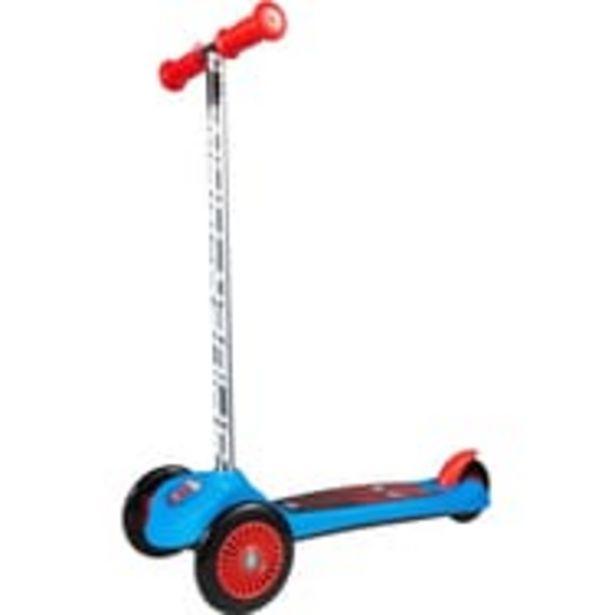 "Trottinette 3 roues ""Steering"" - Spiderman offre à 19,9€"