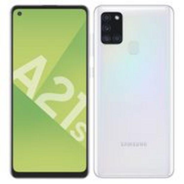 SAMSUNG Smartphone Galaxy A21s 32 Go 6.5 pouces Blanc 4G Double port NanoSim offre à 189,9€