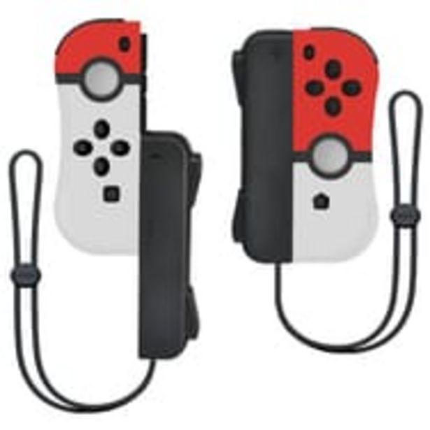 Manette iiCon Pokeball Pokémon avec dragonnes compatible Nintendo Switch offre à 39,99€
