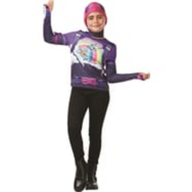 RUBIES Top + cagoule Bride Bomber taille 9/10 ans - Fortnite offre à 2,99€