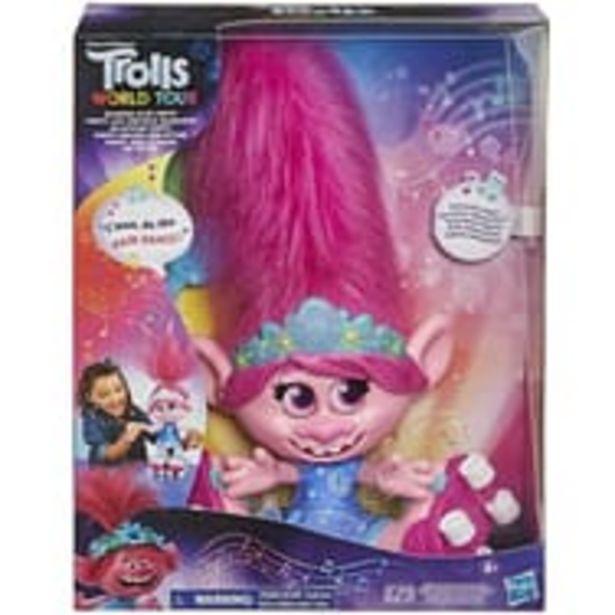 HASBRO Poupée Poppy Cheveux dansants Les Trolls 2 offre à 15,99€