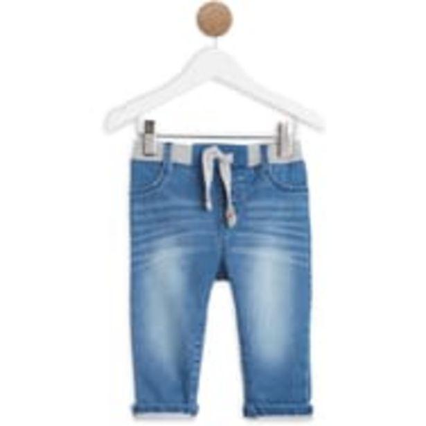 IN EXTENSO Pantalon denim maille bébé garçon offre à 2,99€