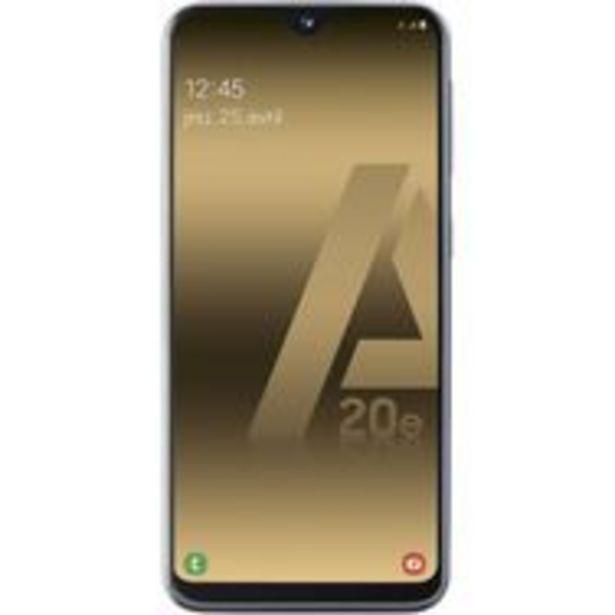SAMSUNG Smartphone - GALAXY A20e - 32 Go - 5.8 pouces - Noir - 4G - Double port Nano SIM offre à 159,9€