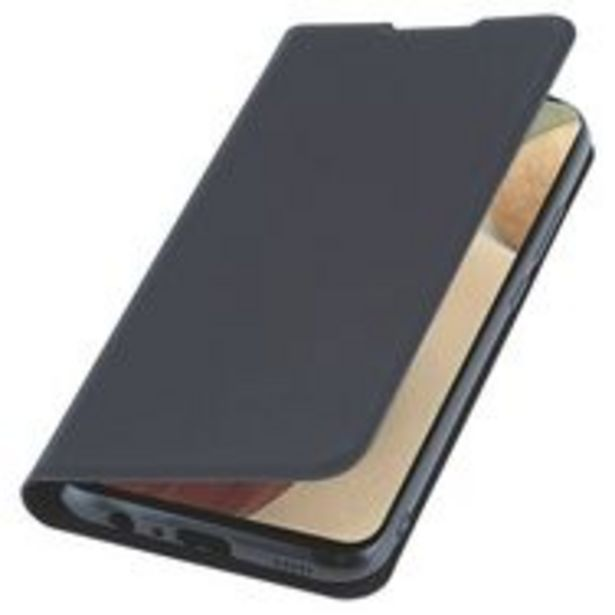 QILIVE Étui folio pour Samsung Galaxy A02s - Noir offre à 7,45€
