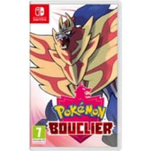 NINTENDO Pokémon Bouclier Nintendo Switch offre à 49,99€