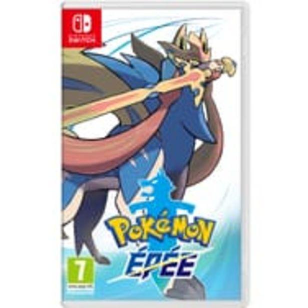 Pokémon Épée Nintendo Switch offre à 49,99€