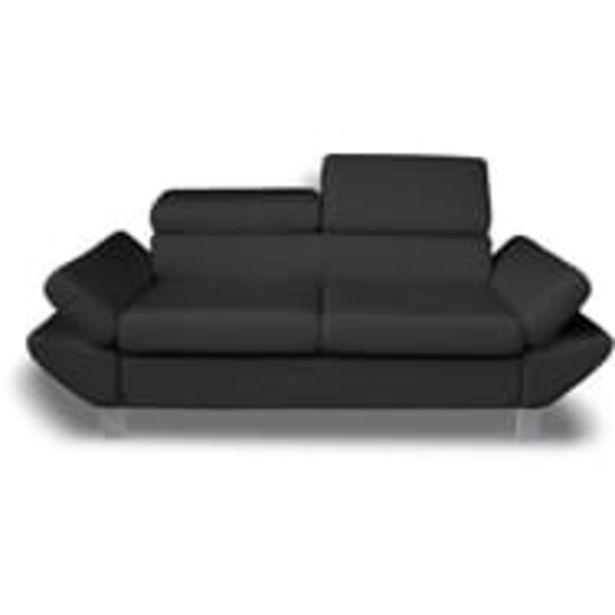Canapé fixe VERONA 2 ou 3 places, tétières et accoudoirs réglables offre à 329€