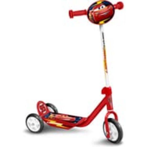 Trottinette 3 roues - Cars offre à 19,9€