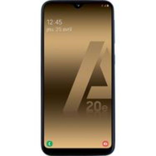 SAMSUNG Smartphone - GALAXY A20e - 32 Go - 5.8 pouces - Bleu - 4G - Double port Nano SIM offre à 159,9€