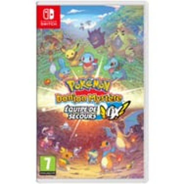 NINTENDO Pokémon Donjon Mystère Équipe de Secours DX Nintendo Switch offre à 44,99€