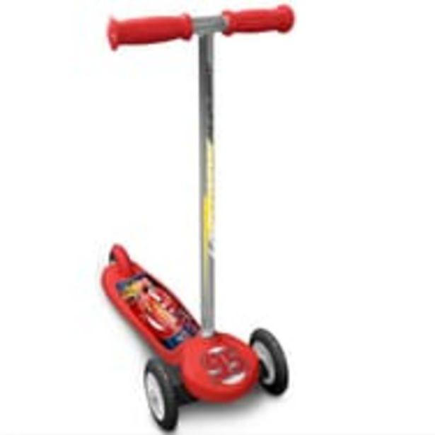 "Trottinette 3 roues ""Steering"" - Cars offre à 19,9€"