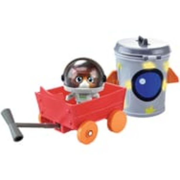 Figurine Cosmo et son chariot 44 Cats offre à 6,99€