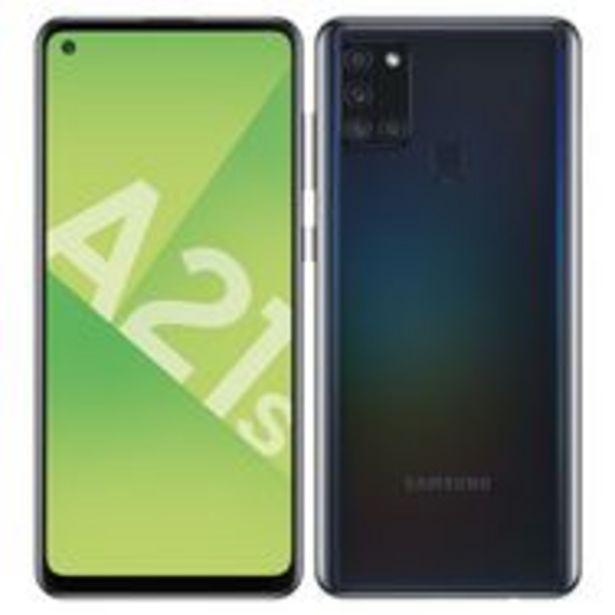 SAMSUNG Smartphone Galaxy A21s 32 Go 6.5 pouces Noir 4G Double port NanoSim offre à 189,9€