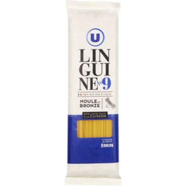 Pâtes Italiennes linguinei n°9 U, paquet de 500g offre à 1,49€