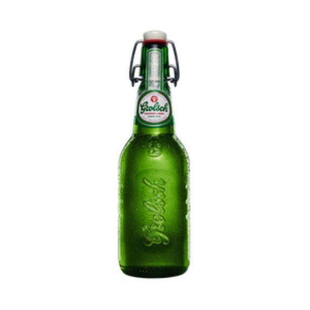 Bière premium lager GROLSCH, 5°, bouteille de 45cl offre à 1,55€
