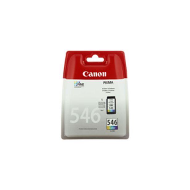 Cartouche d'encre CANON, CL546, couleur offre à 18,99€