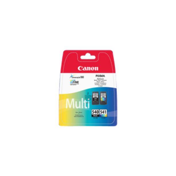 Pack 2 cartouches d'encre CANON pour imprimante, PG540 + CL541 pour imprimante MG2250, sous blister - offre à 38,99€