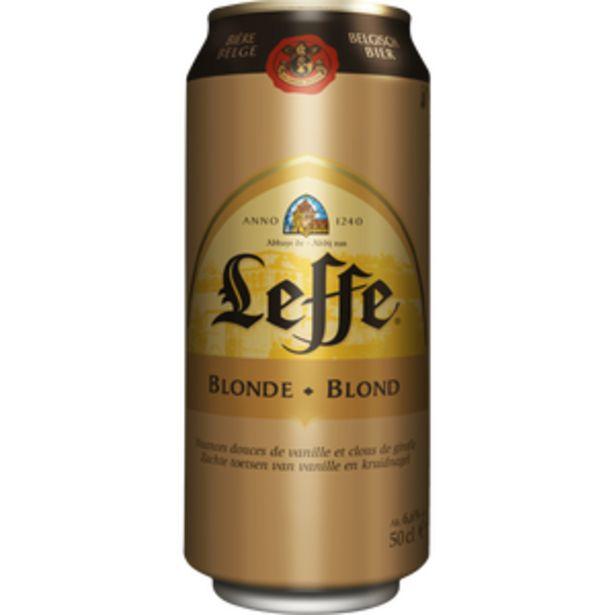 Bière blonde ABBAYE DE LEFFE, 6.6°, 50cl offre à 1,5€