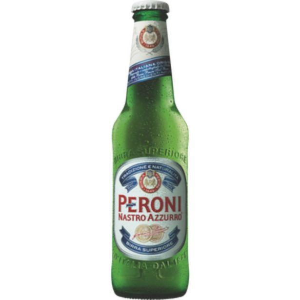 Bière Peroni Nastro Azzurro, 5,1°, bouteille de 33cl offre à 1,6€