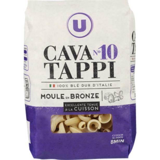 Pâtes italiennes cavatappi n°10 U, paquet de 500g offre à 1,49€