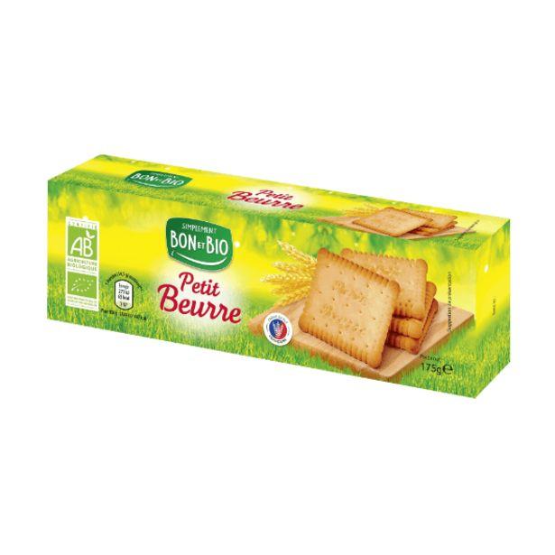 Petit beurre BIO offre à 1,05€