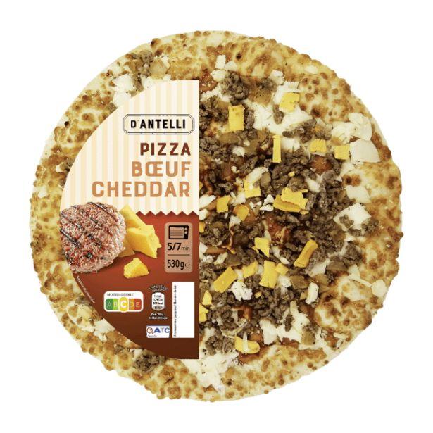 Pizza boeuf cheddar offre à 3,99€