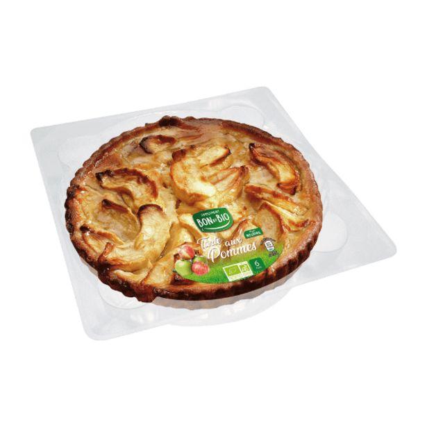 Tarte aux pommes BIO offre à 5,29€