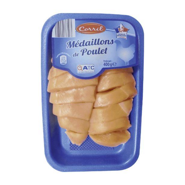 Médaillons de poulet offre à 3,29€