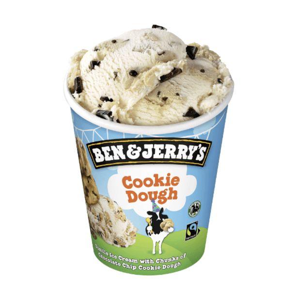 Crème glacée cookie dough offre à 2,71€
