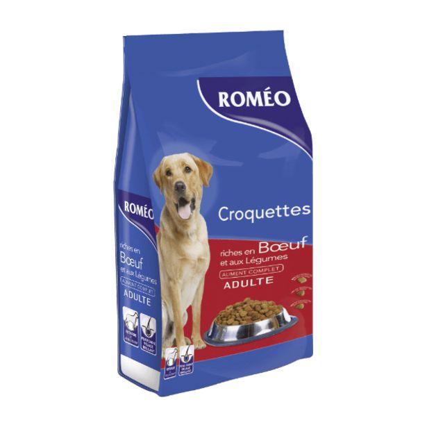 Croquettes pour chien offre à 8,39€