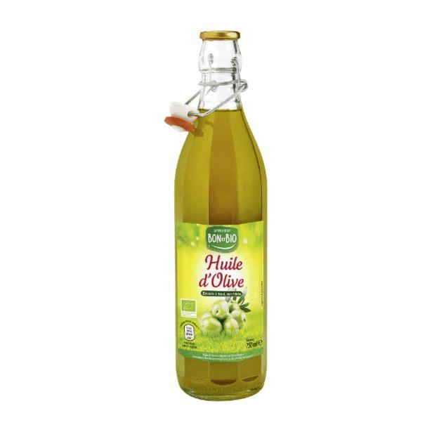 Huile d'olive vierge extra BIO offre à 4,99€