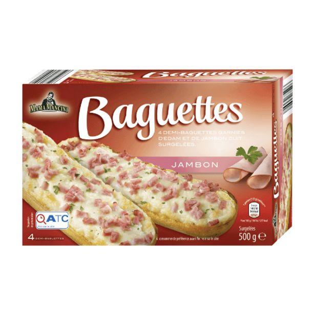 Pizza baguettes offre à 1,99€