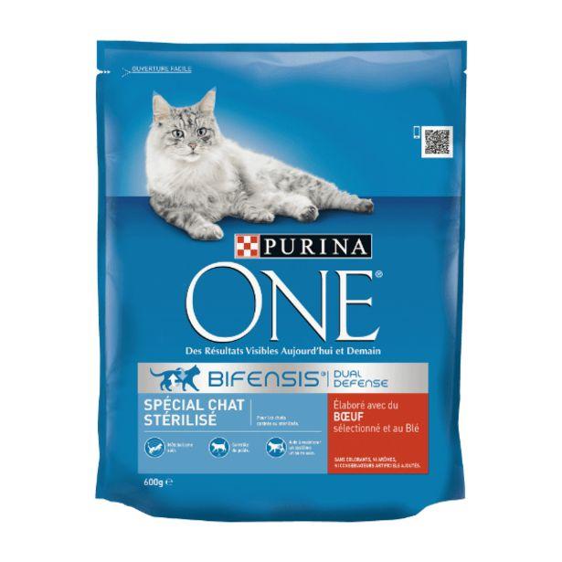 Croquettes pour chat stérilisé offre à 1,85€
