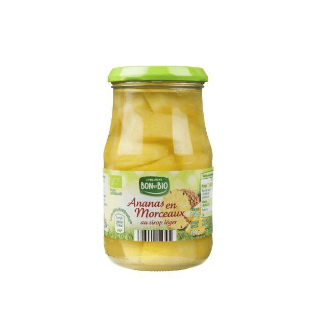 Ananas en morceaux BIO offre à 1,65€