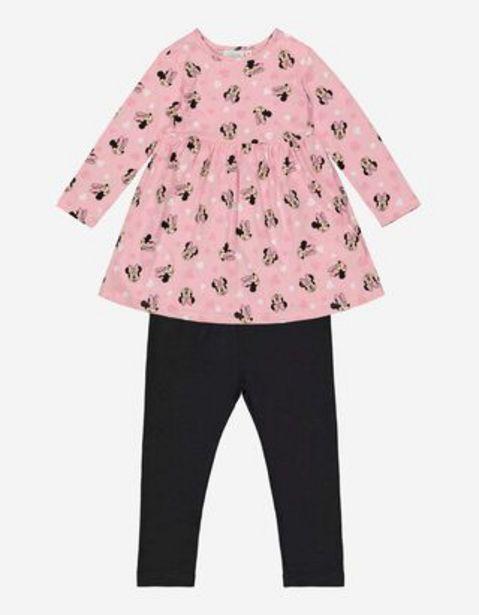 Bébé Ensemble robe et leggings - Minnie offre à 7,99€