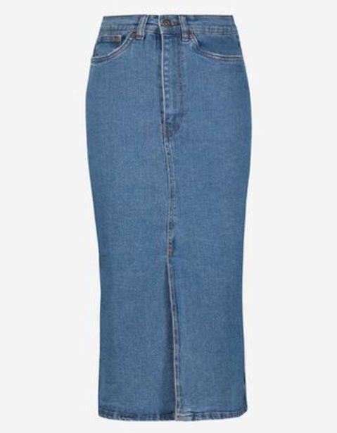 Femmes Jupe en jeans - Fente latérale offre à 19,99€