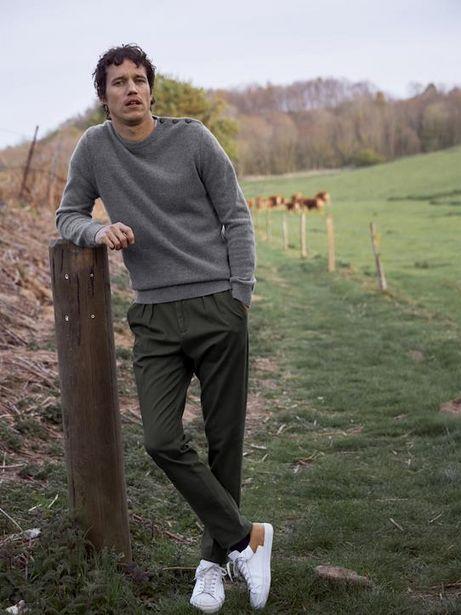 Pantalon carotte homme offre à 69,9€