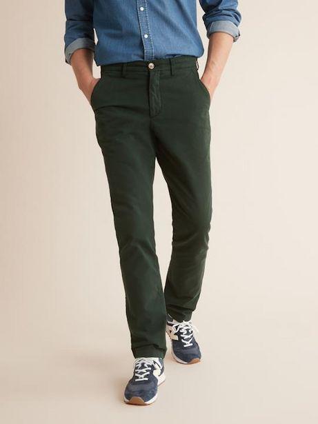Pantalon chino Regular Fit homme offre à 37,45€