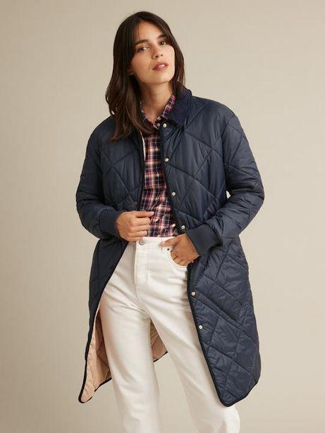 Longue veste matelassée femme offre à 99€