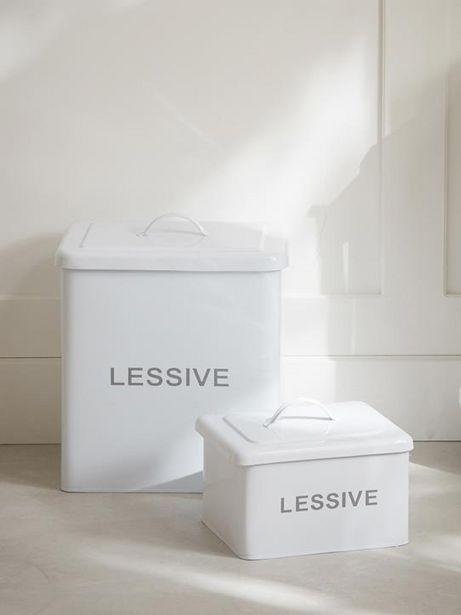 Boîte à lessive offre à 14,95€