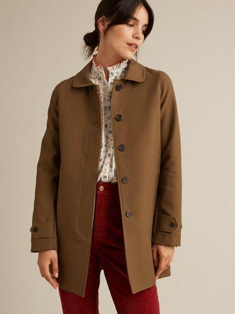 Manteau Car Coat femme double face offre à 113,4€