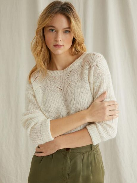 Pull maille douce femme offre à 39,95€
