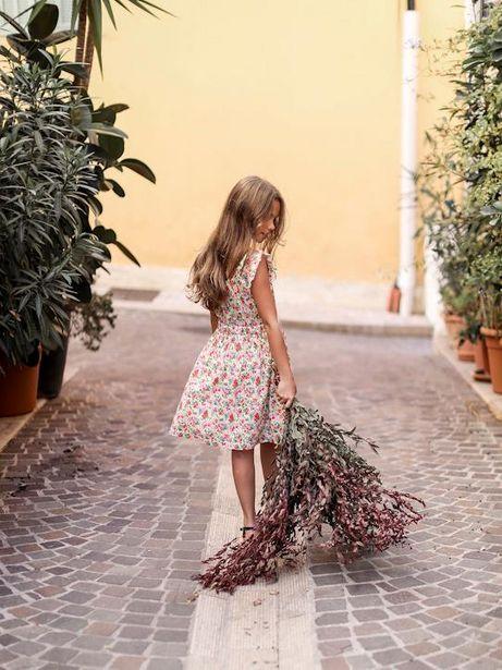 Robe à plastron plissé fille imprimé Pablo Piatti offre à 19,95€