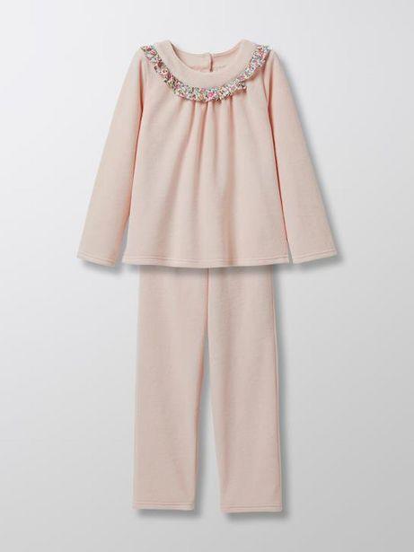 Pyjama en velours fille offre à 34,9€