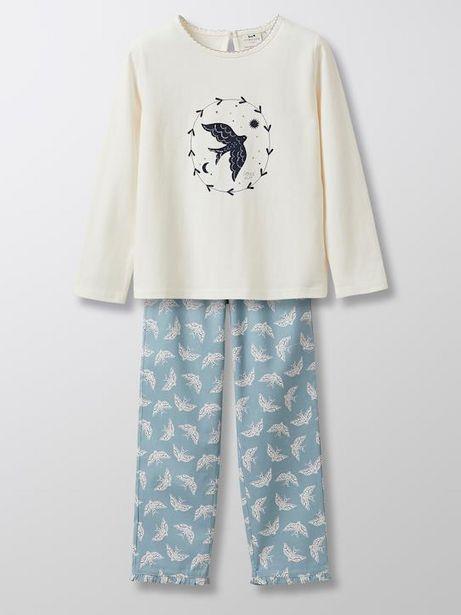 """Pyjama """"oiseau"""" fille offre à 29,9€"""