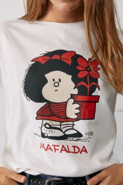 T-shirt « mafalda » pot de fleurs offre à 14,99€