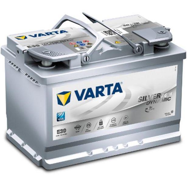 Batterie voiture Varta Start & Stop AGM E39 - 70Ah / 760A - 12V offre à 194,9€